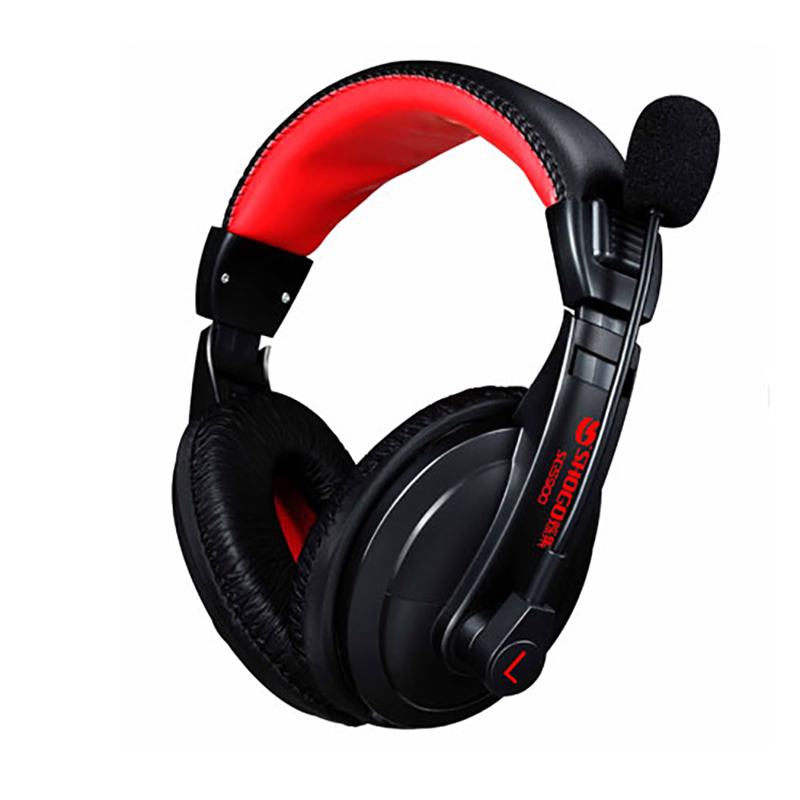 Gaming Headsets Over Head Subwoofer Super Bass Stereo Headset Earphone Tide Computer Games Gaming Headset With Mic For PC Gamer