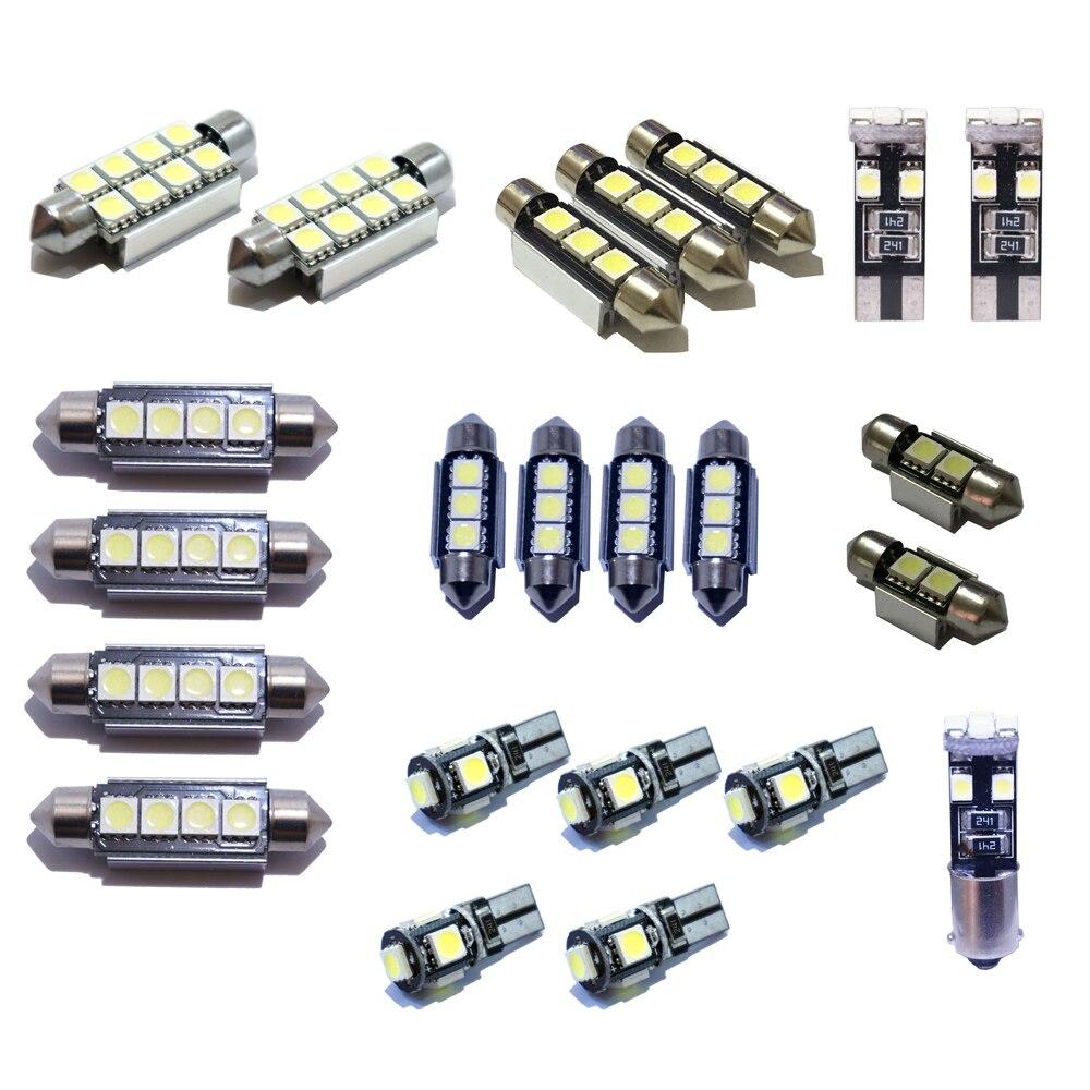 23pcs Kit De Plafonnier LED Intérieur De Voiture Pour BMW X5 E53 2000-2006