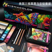 24/36/48/72/132/150 cores eua prismacolor premier lapis de cor lápis grande núcleo macio prismacolor sanford cor lápis
