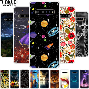 For LG V60 ThinQ 5G Case Phone Cover Silicone Soft TPU Case for LG V60 ThinQ Back Cover Fundas for LGV60 V 60 2020 6.8'' Shell