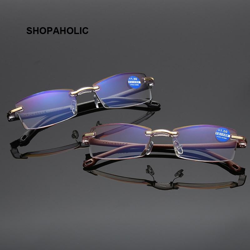 Anti-fatigue HD Reading Glasses Prescription Glasses For Men And Women With Presbyopia+1.0+1.5+2.0+2.5+3.0+3.5+4.0