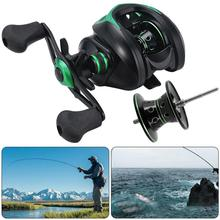 MEEGO  19+1BB 9.1:1 8kg  Carretilha de pesca Abu garcia low profile reel bait casting Fishing reel baitcasting Fishing reels