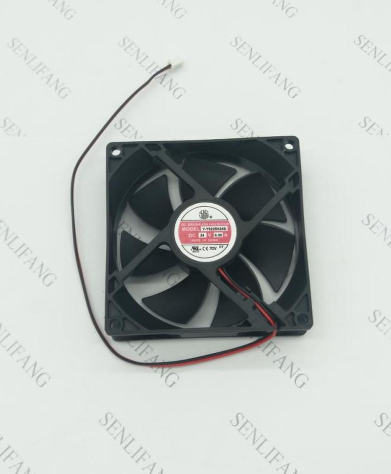 Free Shipping Y-Y9225H24S 9025 24V 0.30A 9CM 2 Line Large Air Volume Inverter Fan
