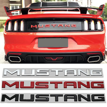 רכב מדבקת אותיות Trunk סמל עבור פורד מוסטנג GT 2015 2014 2005 2006 2007 2008 2009 2019 אוטומטי לוגו מדבקות אביזרי תג