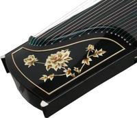 Chinese 21 string zither Ebony GuZheng