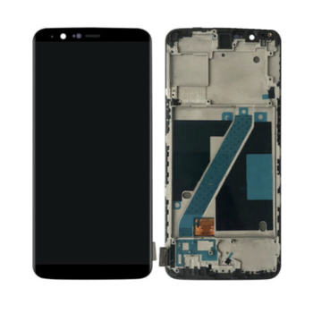 AAA LCD For Oneplus 5T A5010 LCD Display Touch Screen Digitizer Glass Assembly + Frame For One Plus 5T Display