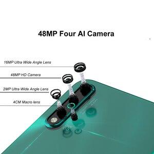 Image 3 - 6,39 дюймов Оригинальный HuaWei Nova 5 мобильный телефон Kirin 810 Восьмиядерный 8 ГБ 128 ГБ Android 9,0 In screen Fingerprint 3500 мАч