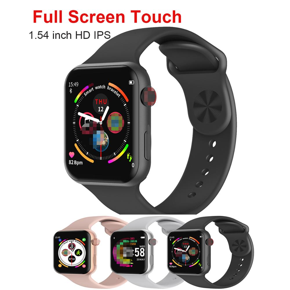 <font><b>F10</b></font> iwo 11 pro full touch screen bluetooth sport smart watch with heart rate monitor pk iwo 13 iwo 11 <font><b>smartwatch</b></font> vs iwo 8 iwo 12 image