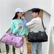 Fashion Fitness Travel Bag Women Waterproof Sports Shoulder Bags Large Capacity Men Work Out Handbags Crossbody Bag