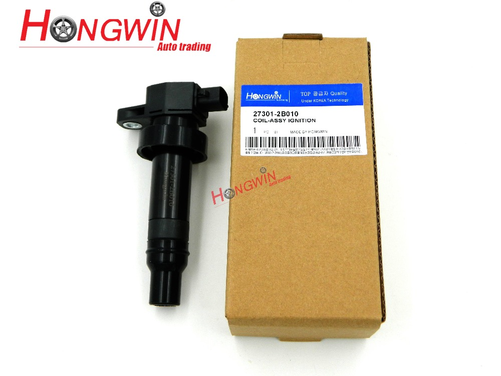 Катушка зажигания 27301-2B010 / 273012B010 / 27301 2B010, подходит для двигателя Hyundai Kia 10-11 Kia Soul 1,6l, качество OEM