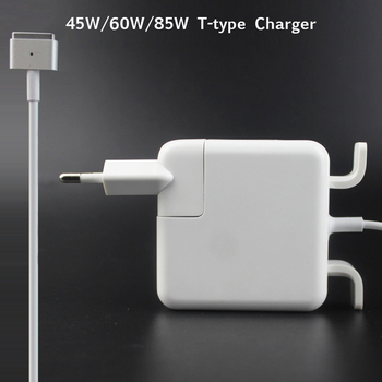 New 45W 60W 85W Magnetic*2 T-Tip Laptop Power Adapter Charger For Apple Macbook Air Pro 11