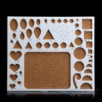 New 1PC Paper Quilling Tool Model DIY Papercraft Work Board Template Slotted Scrapbooks Craft