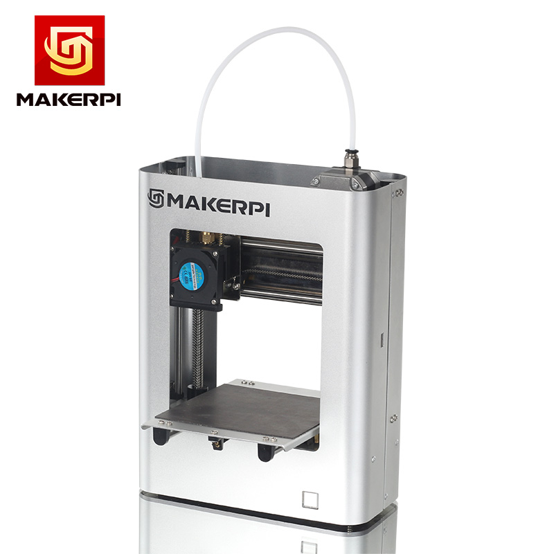 MakerPi Portable 3D Printer FDM Education Desktop One-button Printing for Home Use and Beginners 5