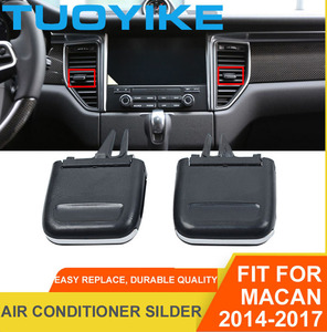 Автомобильный передний левый/правый кондиционер центр A/C вентиляционная решетка Силер розетка Tab клип Ремонтный комплект для Porsche Macan 2014-2017