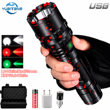 10000LM Rechargeable LED Flashlight XHP50.2 Lamp IPX65 Water