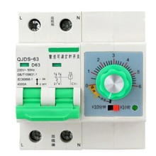 63A 220V MCB with Time Setting Function Protection Timer Switch 1 hour 6 hours Countdown Mini Circuit Breaker