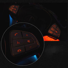 Replace Steering Wheel Button cover Accessory 12pcs/Set Decorative Sticker Replacement Useful New