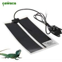 Портативный коврик для рептилий с настраиваемый регулятор температуры обогрев грелка кровать для животных для черепахи, змей, ящерицы, Гекко