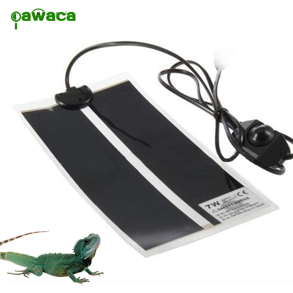 Portable Reptile Heat Mat With Adjustable Temperature Controller Heating Warmer Pet Bed For Turtle, Snakes, Lizard, Gecko