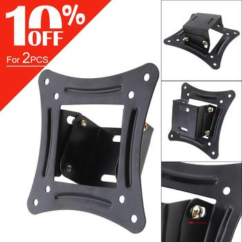 15KG 14~26 inch LCD LED TV Wall Mount Rotated TV Rack Wall Mount LCD Bracket Flat Panel TV Frame 10 MAX VESA 75x75mm 100x100mm 1