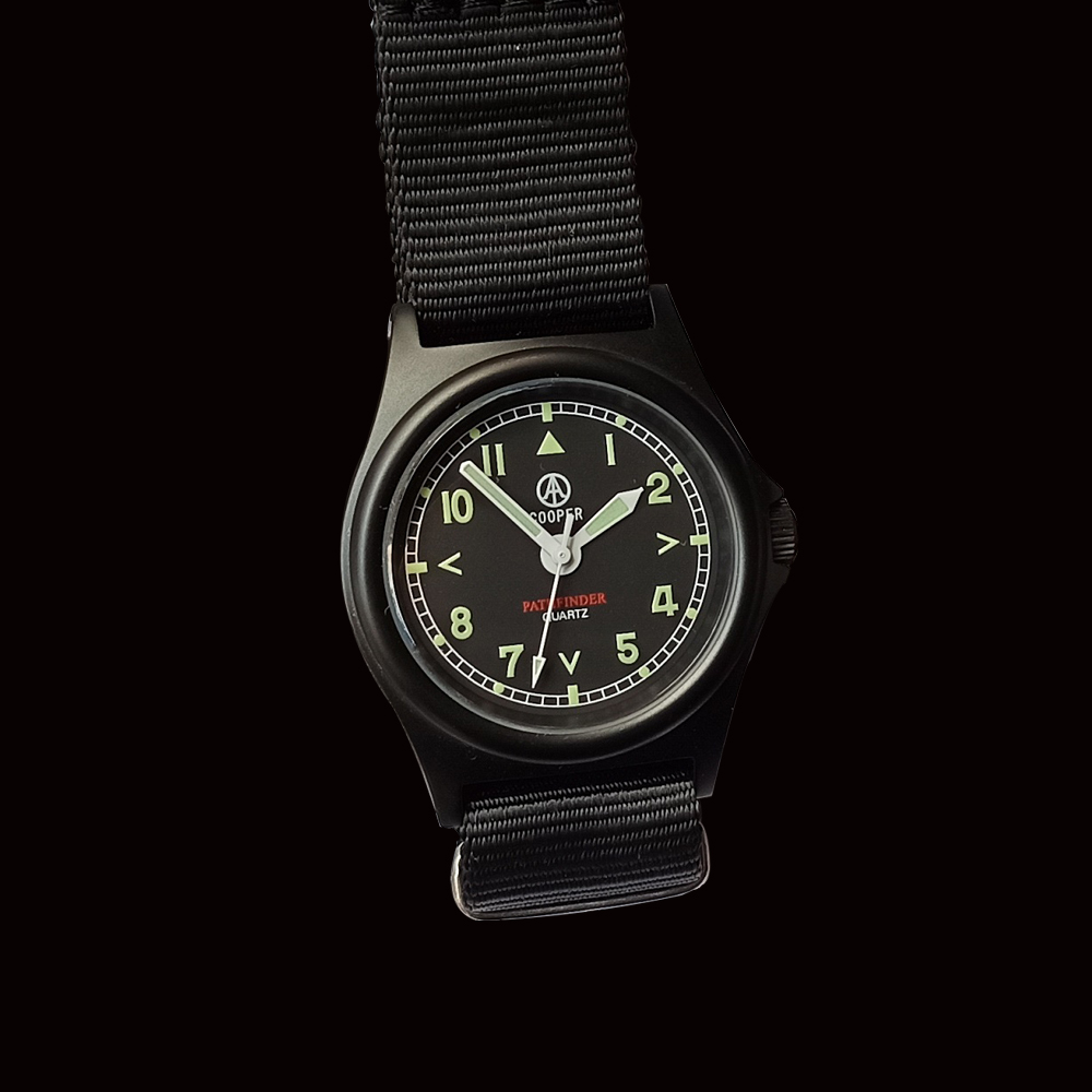 Miyota movimento pathfinder mwc militar exército relógio