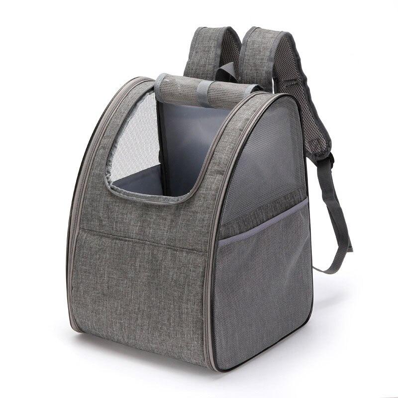HEYPET sac à dos pour animaux de compagnie chien chat en plein air voyage transporteur Packbag Portable fermeture éclair maille sac à dos respirant chien paquets