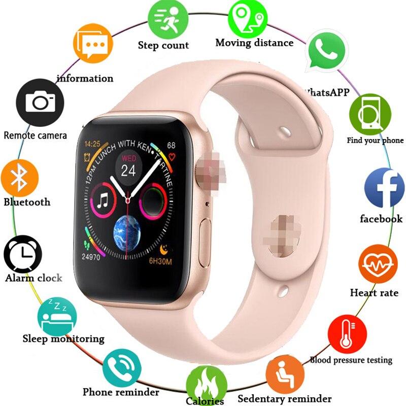 F10 Смарт-часы Полный сенсорный экран для сердечного ритма кровяного давления спортивный трекер фитнес PK P80 N99 NY07 часы подключение Android IOS