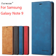 For Samsung Galaxy Note 9 Case Magnetic Phone Case For Samsung Galaxy Note 9 Cover Wallet Flip Leather Stand Case цена и фото