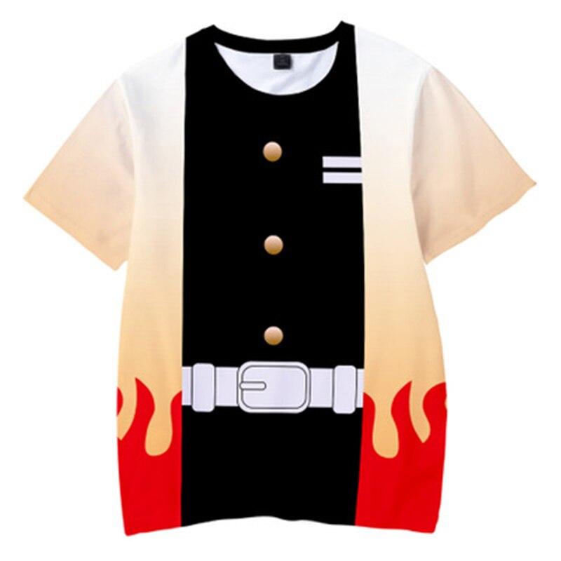 H5afa6dc24880408592b7fcd265af8901A Kids Boys Devils killer T-shirts 3d Print Cosplay Japanese Ghost blade Children Summer Short Sleeve Tshirts Demon Slayer Clothes