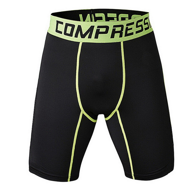 Men Summer Running Shorts Men Quick Drying Training Fitness Compression Gym Shorts Gym Mens Sport Compression Tights