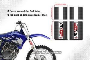 Image 5 - HUMAARTสิ่งสกปรกจักรยานส้อมด้านหน้าหลอดกราฟิกส้อมWrap Motocrossสติกเกอร์PVCไวนิลDecalชุดสำหรับMX Dirt Bike Offแผนที่รถจักรยานยนต์