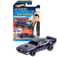 Rodas quentes rápido e furioso spy racers carros 1/64 collector edição metal liga modelo carro