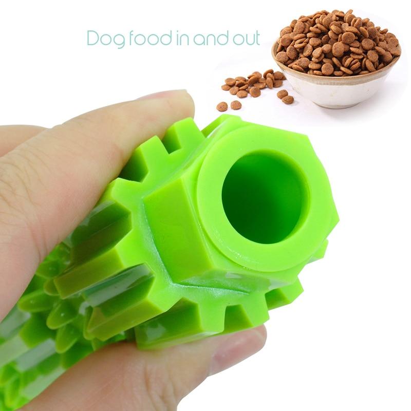 Мягкая игрушка для жевания собак, резиновая игрушка для чистки зубов домашних животных, агрессивная игрушка для жевания, игрушки для ухода за едой для щенков, маленьких собак-1