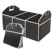 EAFC Car Multi Pocket Organizer Large Capacity Folding Storage Bag Trunk Stowing and Tidying