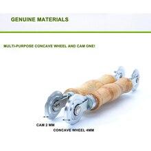 Holz griff Doppel kopf druck roller für Bildschirm fenster gummi streifen manuelle moskito bildschirm fenster druck rad werkzeug