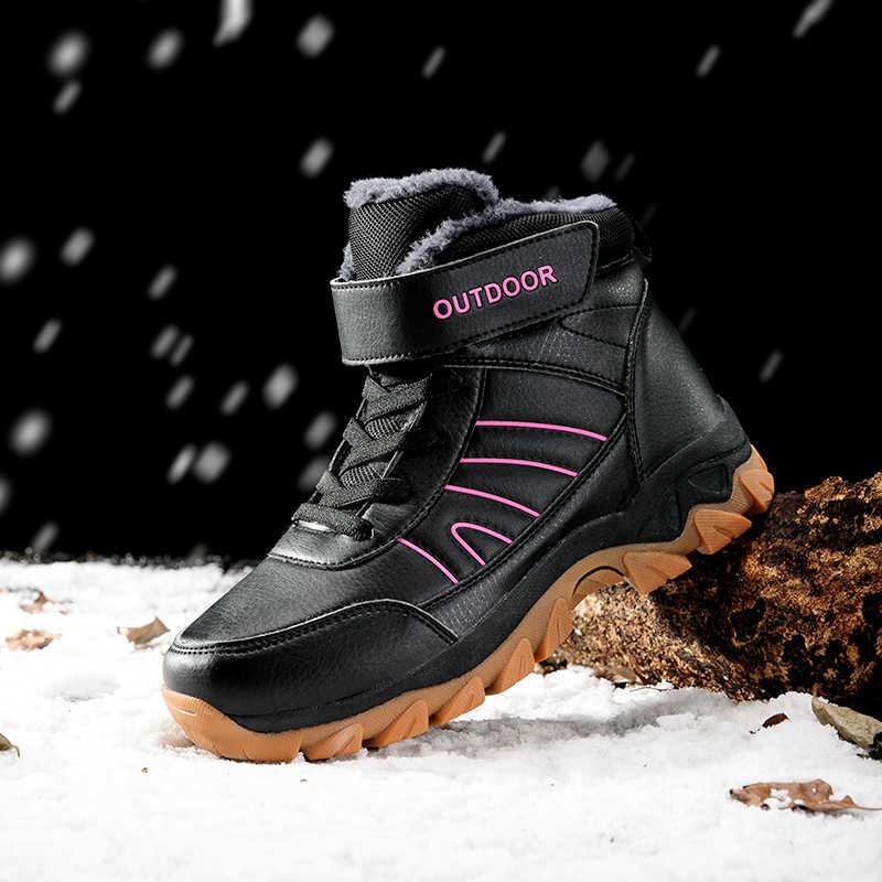 STQ kış kadın yarım çizmeler kadın sıcak ayakkabı ayakkabı süet deri kayma rahat kar botları bayan yürüyüş ayakkabısı 8025