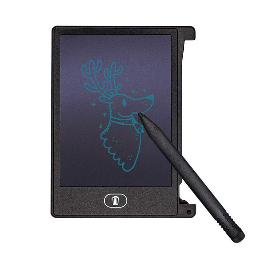 4.4 Inch LCD Digital English Lcd Tablet Portable Mini Children's Drawing Graffiti Board Message Writing Board