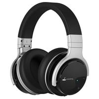 Meidong-auriculares inalámbricos E7B con Bluetooth, dispositivo con cancelación activa de ruido, por encima de la oreja, con micrófono y graves profundos