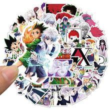 Стикеры аниме hunter x для детей комплект из 10/30/50 шт наклейки