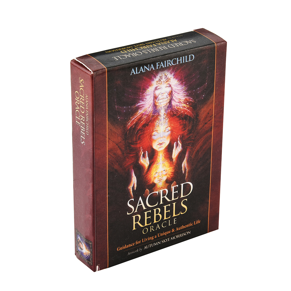 Sacred Rebels Oracle: Guidance For Living A Unique & Authentic Life Cards Celebrate And Nurture Your Individuality