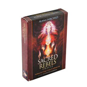 Sacred Rebels Oracle: Guidance for Living a Unique & Authentic Life Cards Celebrate and nurture your individuality living a political life