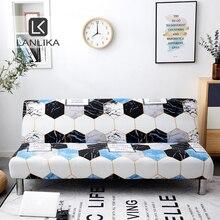Lanlika 2020 novo all inclusive dobrável sofá cama capa envoltório apertado sofá toalha capa sem braço housse canap cubre