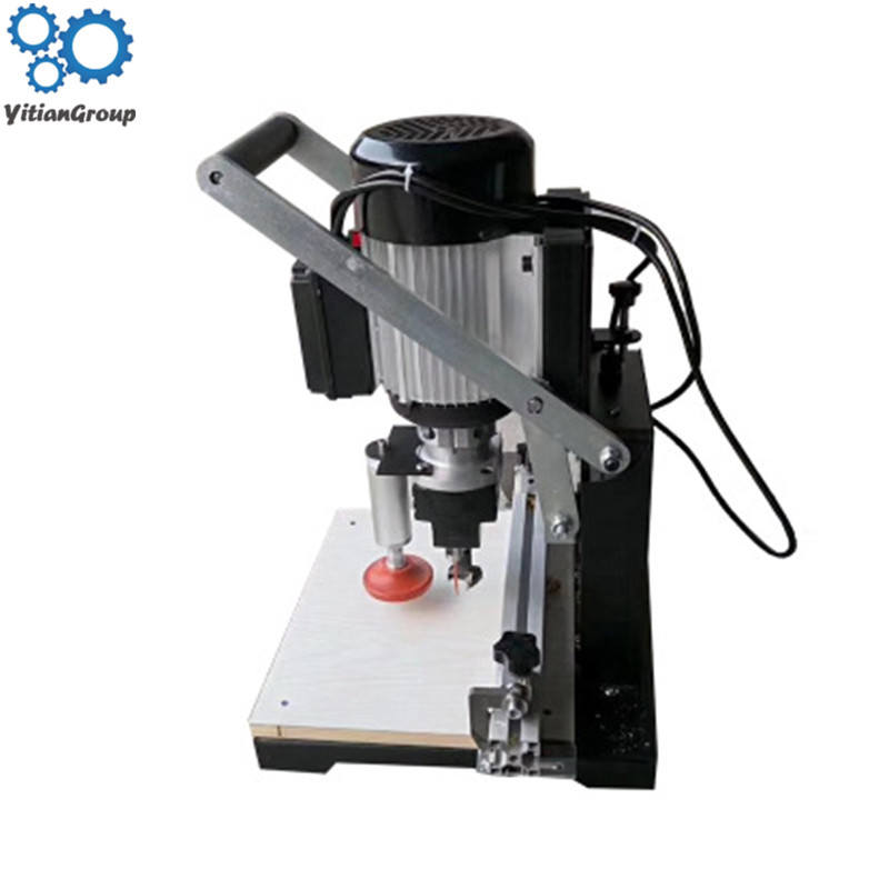 Woodworking Hinge Drill Portable Cutting Machine Three In One CNC Multi-function Semi-automatic Drilling Machine Lathe DIY Tool