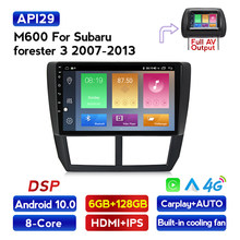 Android 10 Acht core DSP IPS Auto Audio gps navigator für Subaru forester 2007-2013 limousine dvd Forester 3 mit RDS wifi Carplay