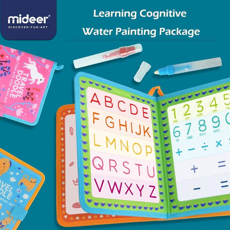MiDeer раннее детское образование Когнитивная живопись Волшебная водная живопись Когнитивная живопись рукописная повторная практика