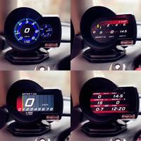 Magician OBD2 F835 Head Up Display Car Digital Boost Gauge Voltage Speed Meter Water Temp Alarm Driving data record