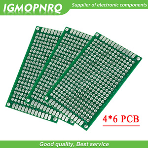 10pcs 4x6cm 4*6 Double Side Prototype 4x6 PCB diy Universal Printed Circuit Board