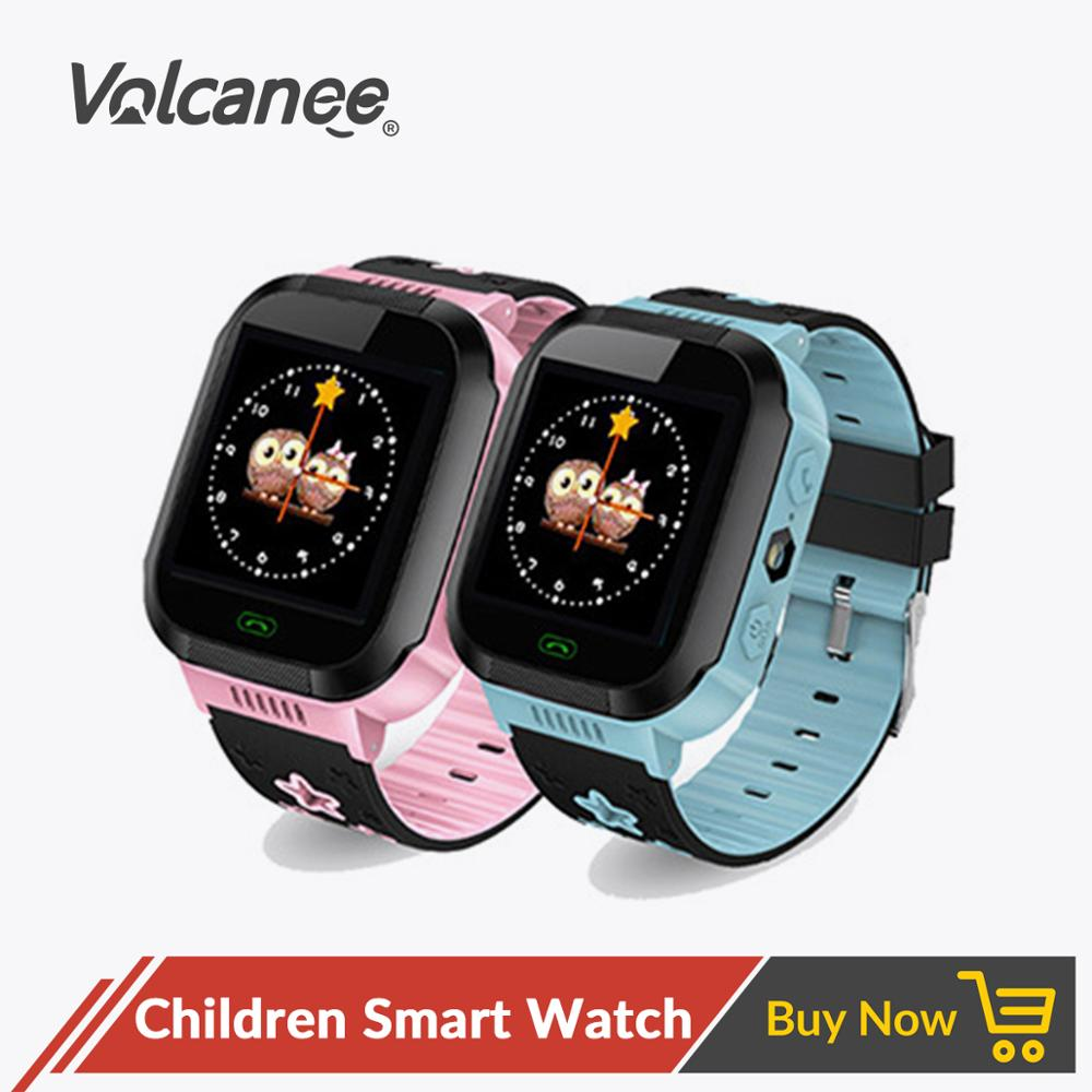 Smart Watch Waterproof Camera Lighting Touch Screen SOS Call LBS Tracking Location Finder Baby Smart Watch Kids Electronics