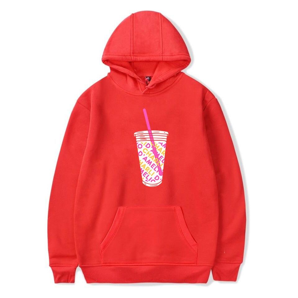 Charli Damelio Merch Print Ice Coffee Splatter Hoodie Women Men Sweatshirt Harajuku Hoodies Long Sleeve Tracksuit Pullover Womam 8