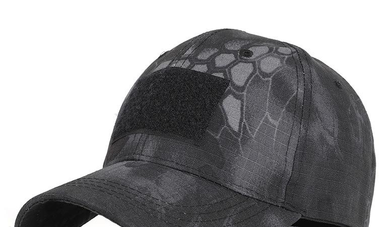 17 Colors Camo Men's gorras Baseball Cap Male Bone Masculino Dad Hat Trucker New Tactical Men's Cap Camouflage Snapback Hat 2020 12